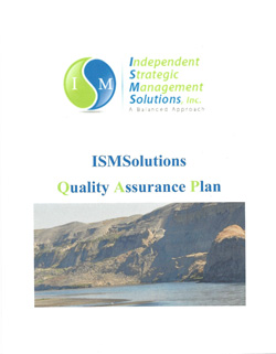 ISMSolutions Quality Assurance Plan
